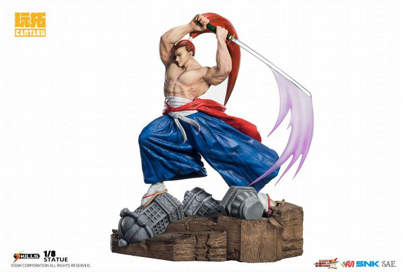 Samurai Shodown 2/ Genjuro Kibagami 1/8 Statue main