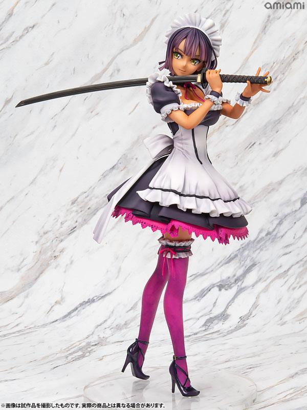 Murakami Suigun no Yakata Original F-ism Shoujo Katana Maid 1/6 Complete Figure