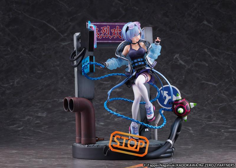 Re:ZERO -Starting Life in Another World- Rem -Neon City Ver.- 1/7 Complete Figure