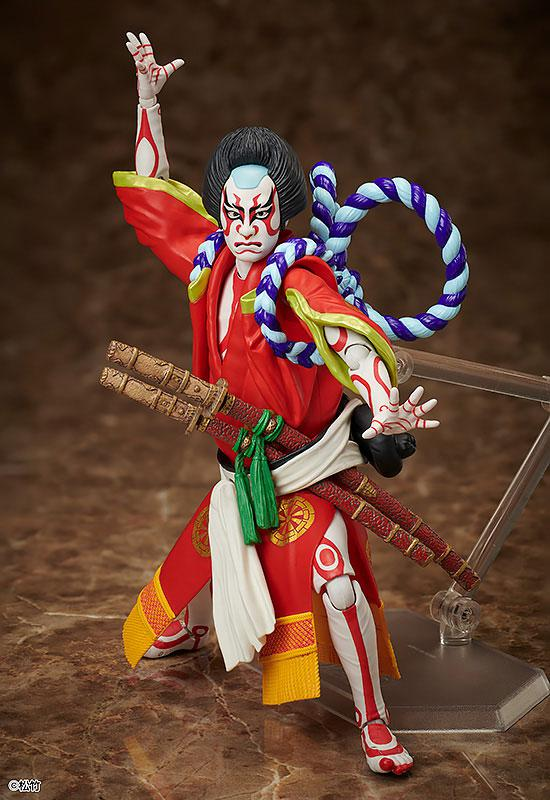 figma Kabuki -Yoshitsune Senbon Zakura- Kitsune Tadanobu main