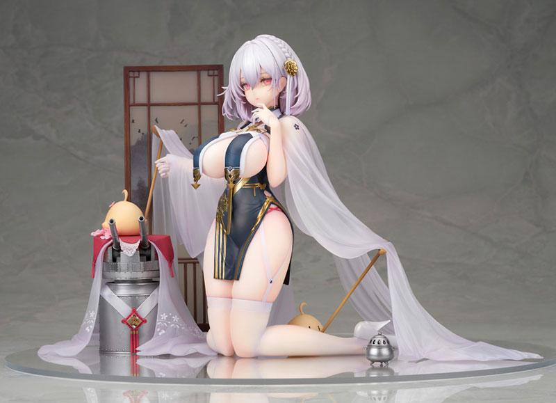 Azur Lane Sirius Blue Waves and Clouds Ver. 1/7 Complete Figure