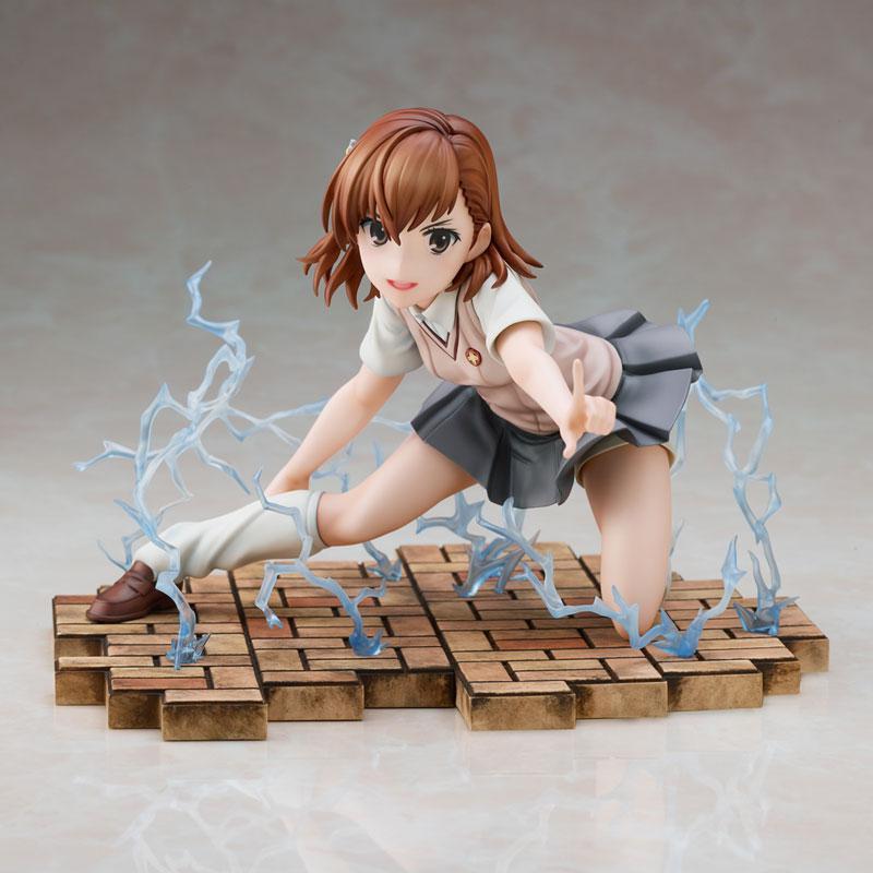 Toaru Kagaku no Railgun T Mikoto Misaka Complete Figure