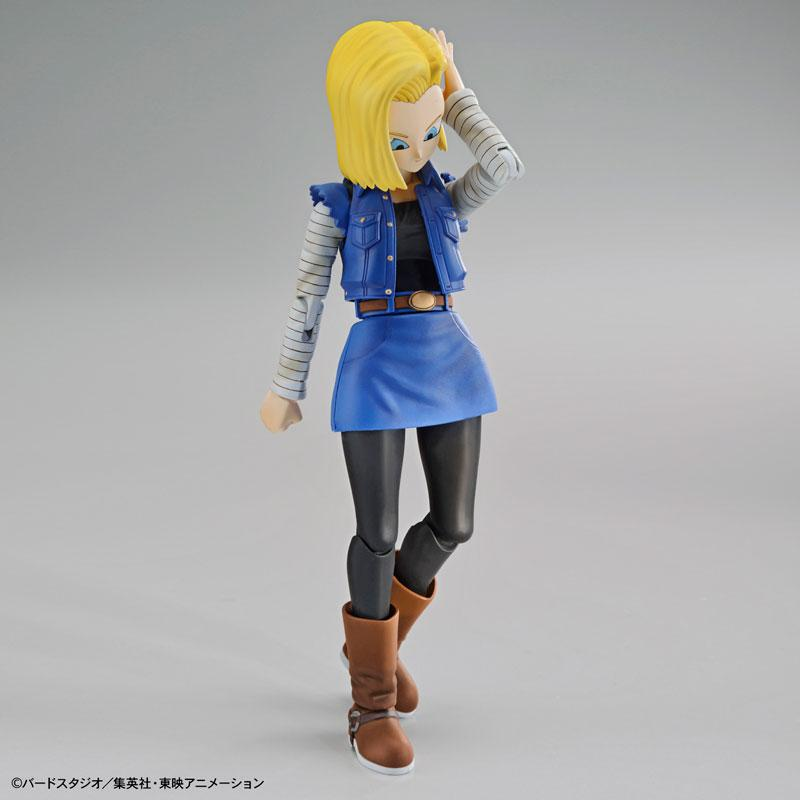 "Figure-rise Standard Android #18 (Renewal Ver.) Plastic Model ""Dragon Ball"""
