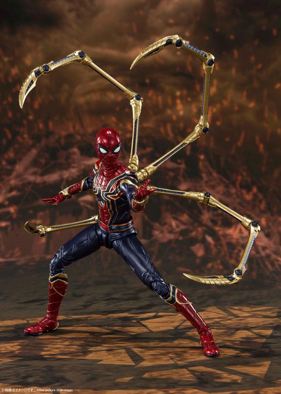 S.H.Figuarts Iron Spider -[FINAL BATTLE] EDITION- (Avengers: Endgame) 4