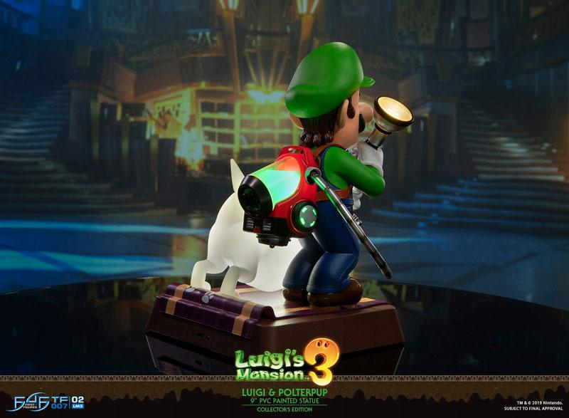 Luigi's Mansion 3/ Luigi 9 Inch PVC Statue Collector Edition 3