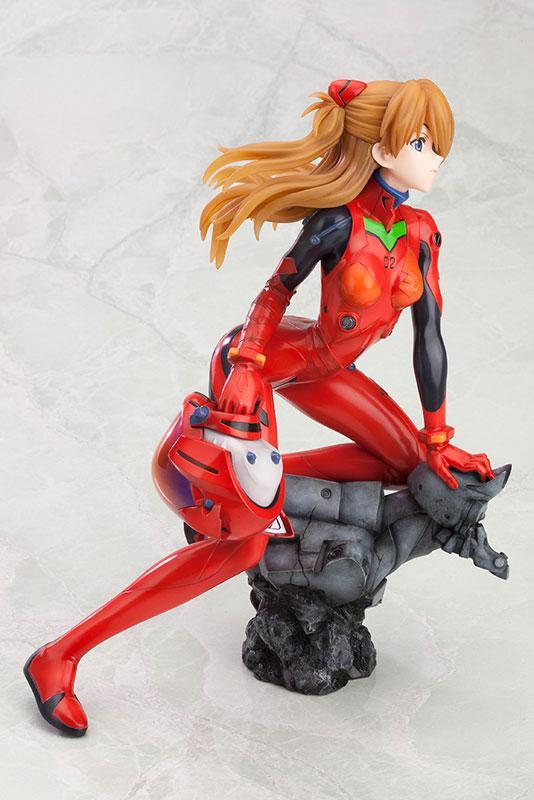 Rebuild of Evangelion Asuka Langley Shikinami: Q -Plug Suit ver.- :RE 1/6 Complete Figure