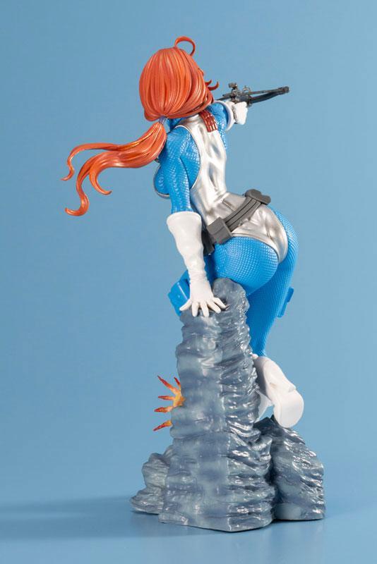 G.I. JOE Bishoujo Scarlett Sky-blue Limited Edition 1/7 Complete Figure 3