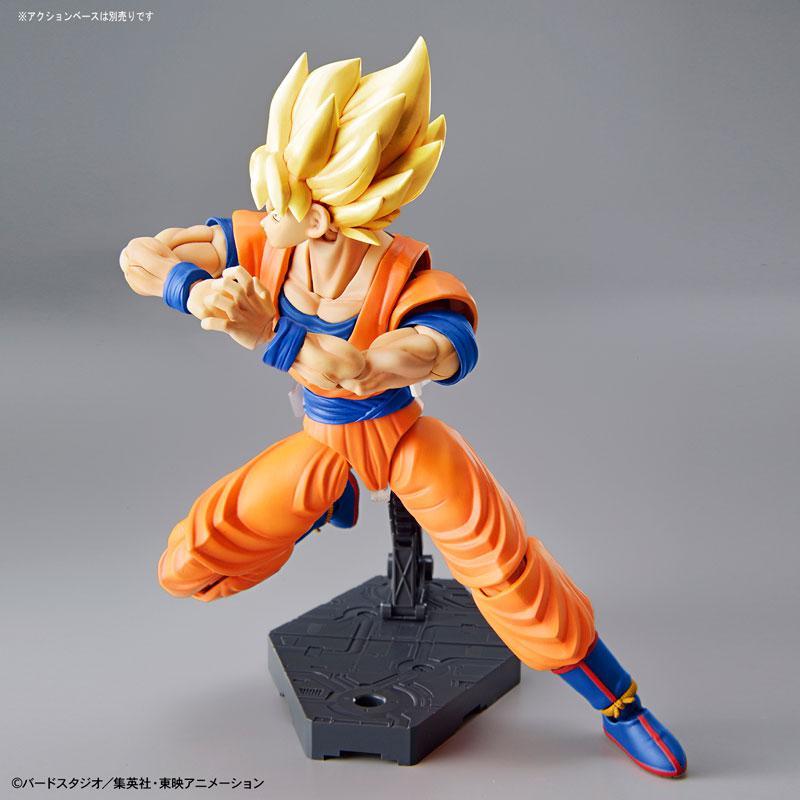 "Figure-rise Standard Super Saiyan Son Goku (Renewal Ver.) Plastic Model ""Dragon Ball"" 5"