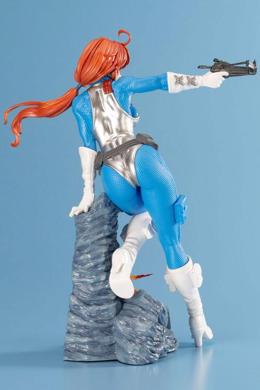 G.I. JOE Bishoujo Scarlett Sky-blue Limited Edition 1/7 Complete Figure 1
