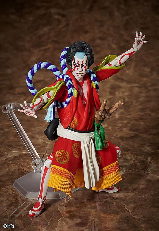 figma Kabuki -Yoshitsune Senbon Zakura- Kitsune Tadanobu 1