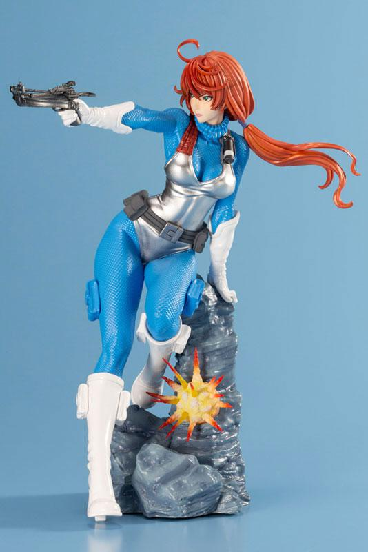G.I. JOE Bishoujo Scarlett Sky-blue Limited Edition 1/7 Complete Figure 5