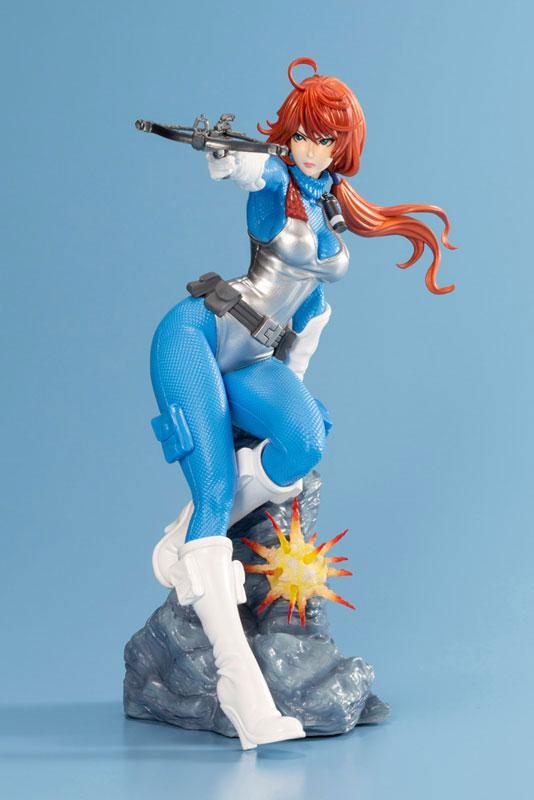G.I. JOE Bishoujo Scarlett Sky-blue Limited Edition 1/7 Complete Figure 7