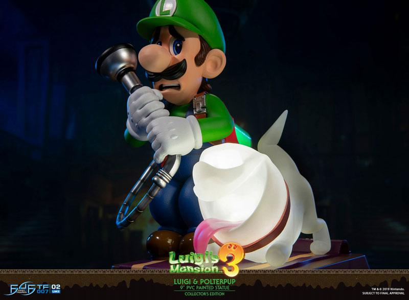 Luigi's Mansion 3/ Luigi 9 Inch PVC Statue Collector Edition 23