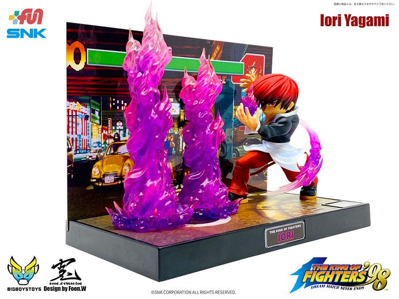 The King of Fighters 98 - T.N.C- KOF02- Iori Yagami Complete Figure product