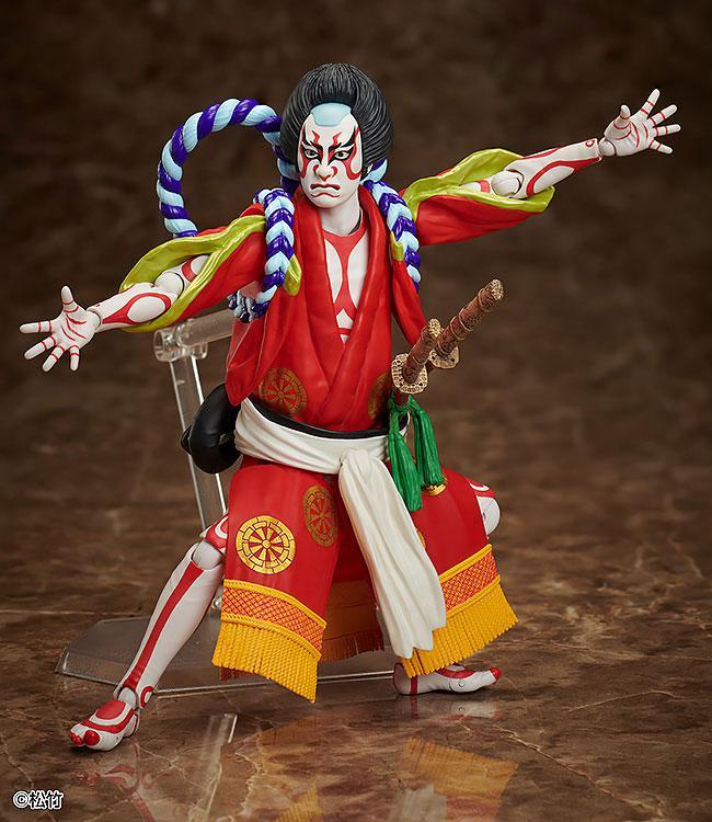 figma Kabuki -Yoshitsune Senbon Zakura- Kitsune Tadanobu 3