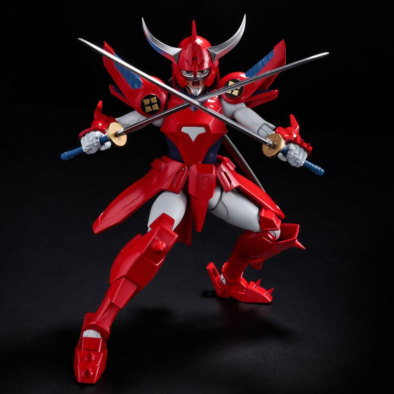 Choudan Kadou Ronin Warriors Ryo of the Wildfire Posable Figure 5