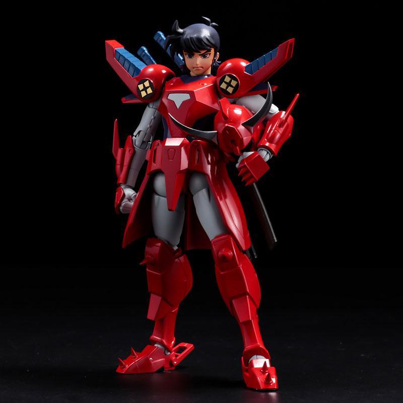 Choudan Kadou Ronin Warriors Ryo of the Wildfire Posable Figure 1