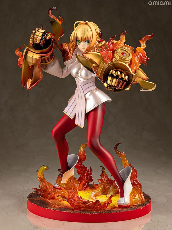 Fate/EXTELLA [Saber Regalia] Nero Claudius Zoukei Shinka Gekiteki STATUE 01 1/7 Complete Figure main