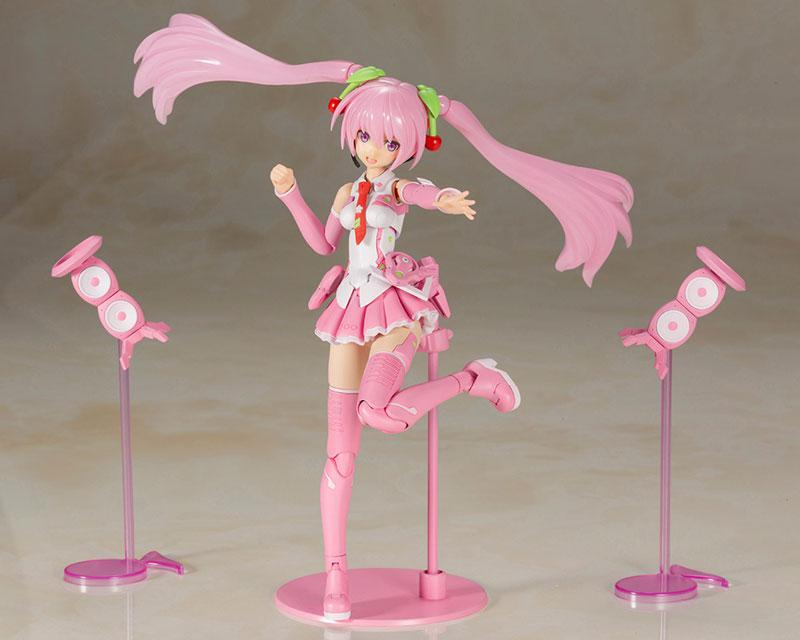 Frame Arms Girl Frame Music Girl Sakura Miku Plastic Model 5