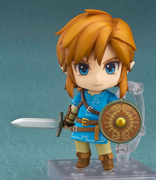 Nendoroid The Legend of Zelda Link Breath of the Wild Ver. DX Edition 4