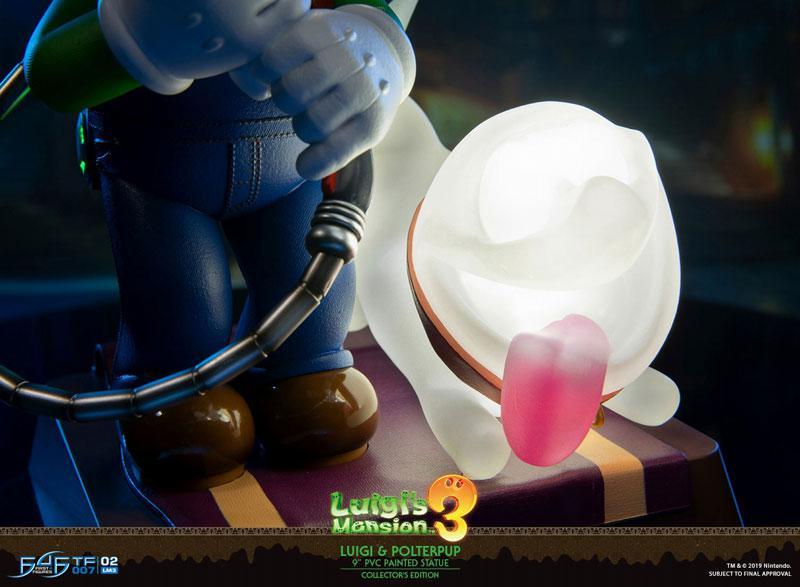 Luigi's Mansion 3/ Luigi 9 Inch PVC Statue Collector Edition 22