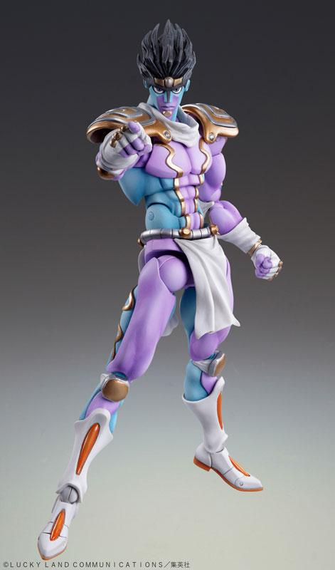 "Super Action Statue ""JoJo's Bizarre Adventure Part.IV"" Star Platinum Complete Figure 0"