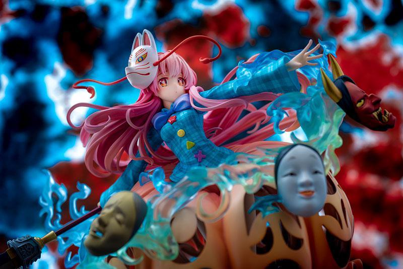 "Touhou Project ""The Expressive Poker Face"" Kokoro Hatano 1/8 Complete Figure 6"