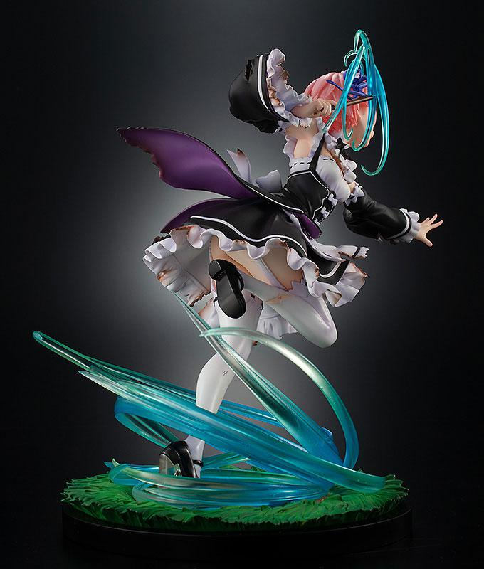 KDcolle Re:ZERO -Starting Life in Another World- Ram: Battle with Roswaal Ver. 1/7 Complete Figure