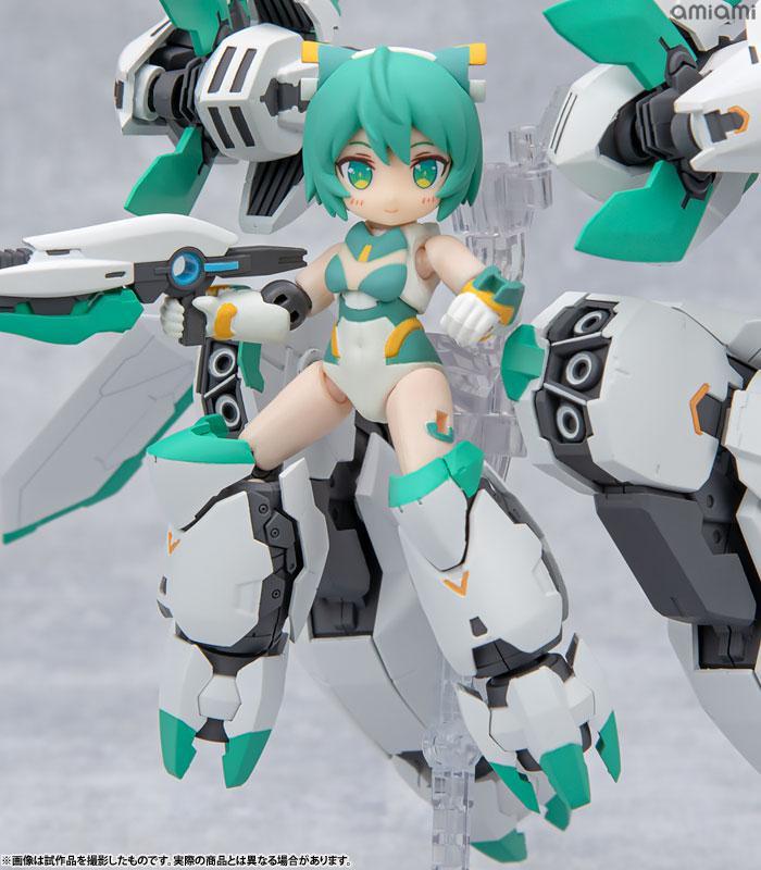 [Bonus] Desktop Army Alice Gear Aegis Sylphy II (Ganesha Equipment) Posable Figure 3