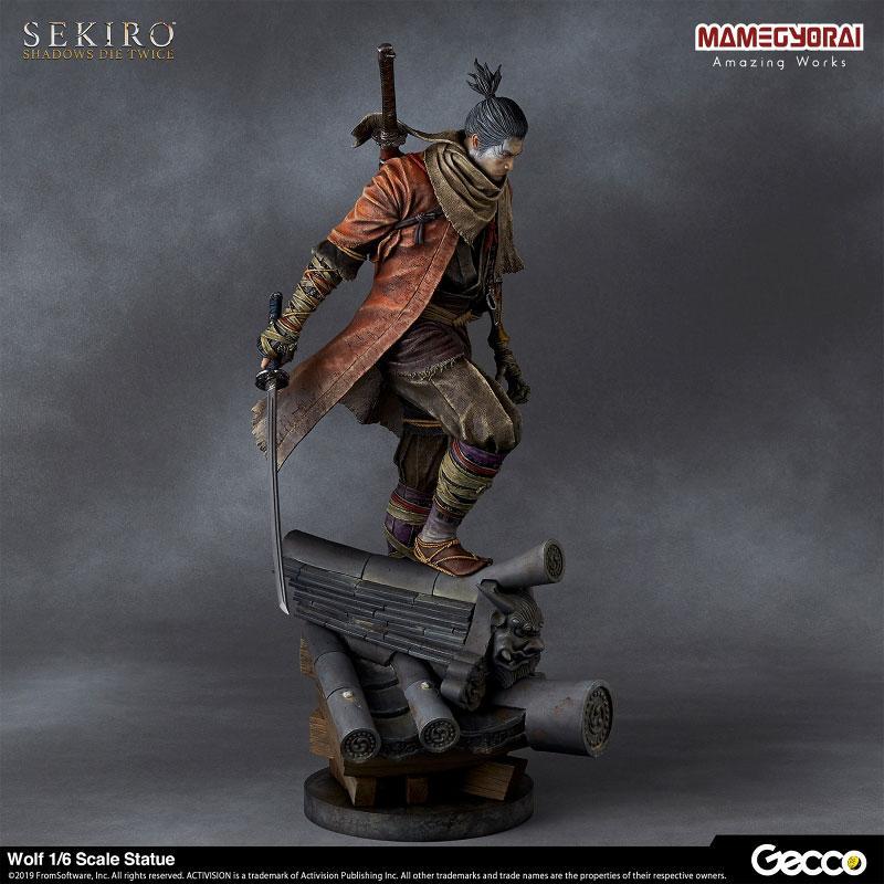 [Bonus] SEKIRO: SHADOWS DIE TWICE/ Wolf 1/6 Scale Statue 1