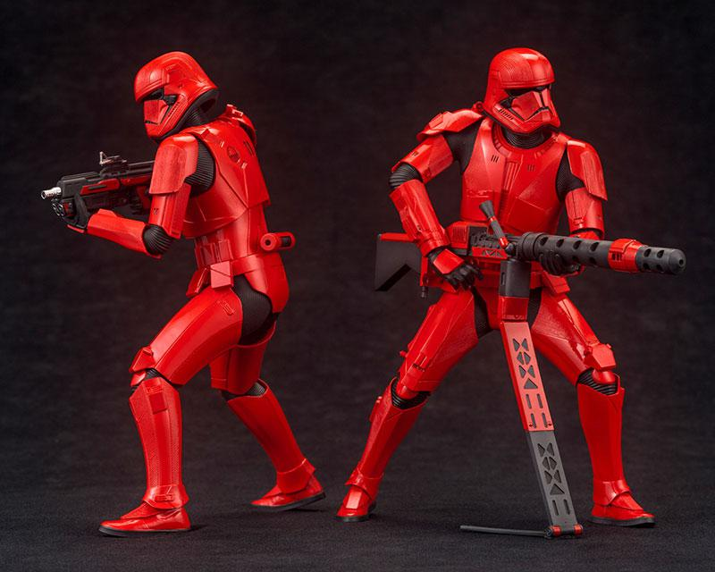 ARTFX+ STAR WARS: THE RISE OF SKYWALKER Sith Trooper 2Pack 1/10 Easy Assembly Kit