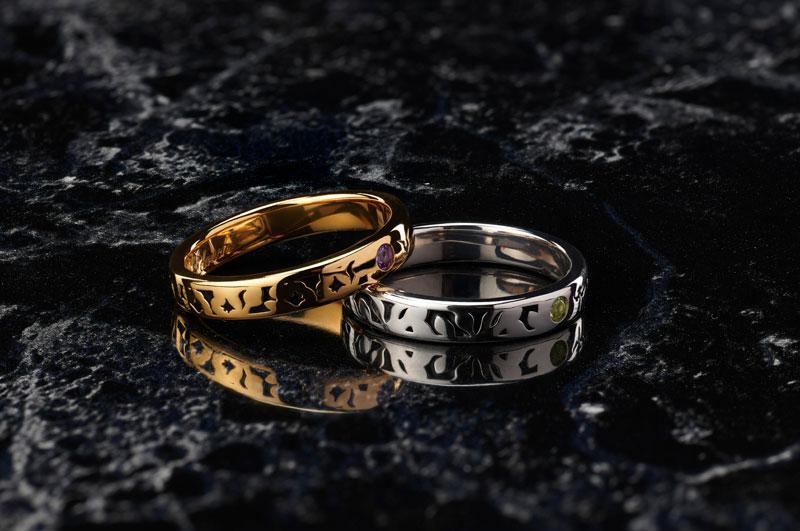 Statue and ring style Code Geass Lelouch Lamperouge & Suzaku Kururugi Ring #15 (Figure + Ring)