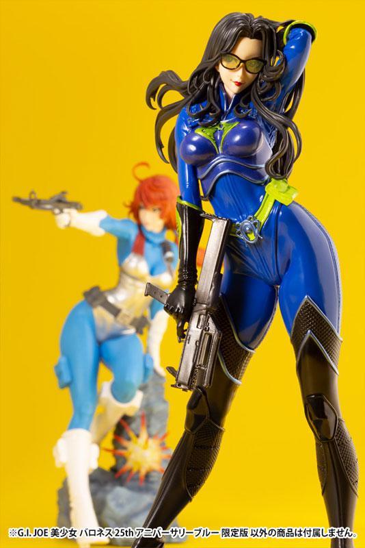 G.I. JOE Bishoujo Baroness 25th Anniversary Blue Limited Edition 1/7 Complete Figure 9