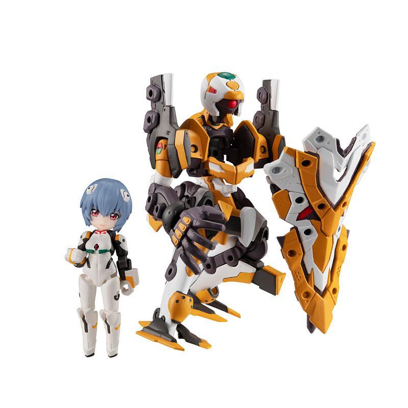 Desktop Army Rebuild of Evangelion Rei Ayanami & EVA Unit-00'