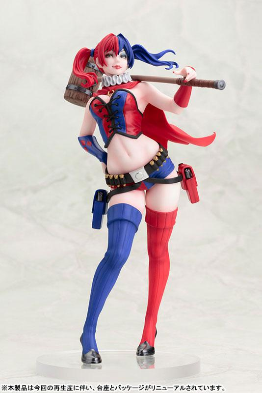 DC COMICS Bishoujo DC UNIVERSE Harley Quinn NEW52 ver. 2nd Edition 1/7 Complete Figure