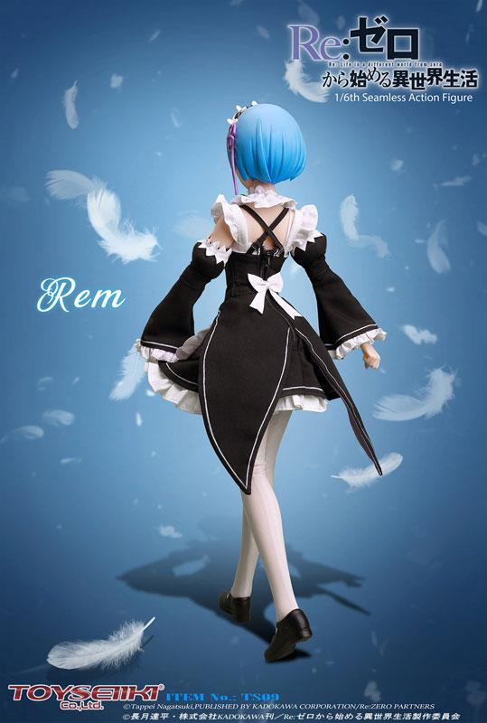 Re:ZERO -Starting Life in Another World- Rem 1/6 Seamless Action Figure