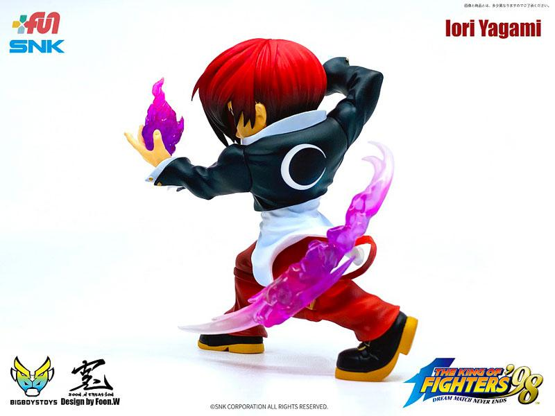 The King of Fighters 98 - T.N.C- KOF02- Iori Yagami Complete Figure