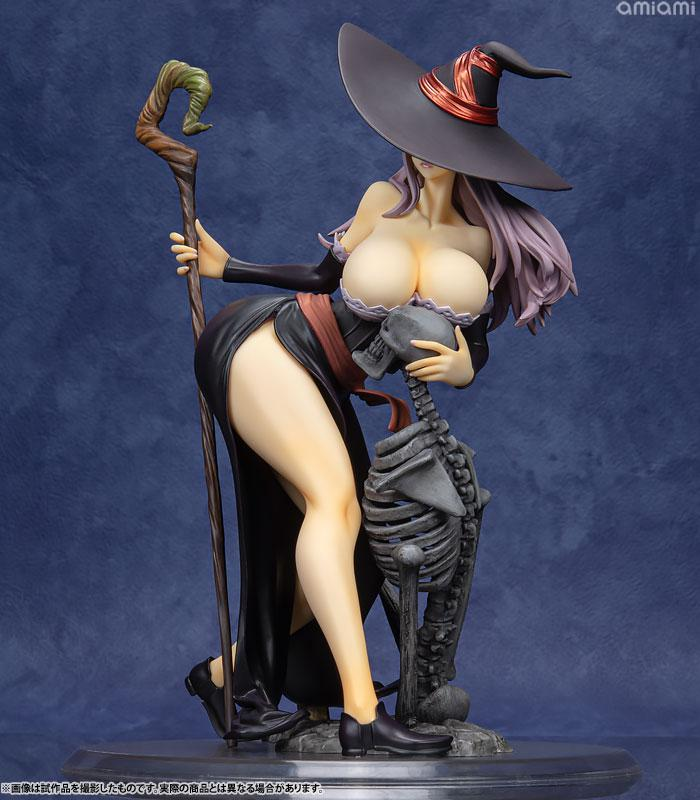 Dragon's Crown Sorceress Darkness Crow ver. 1/7 Complete Figure