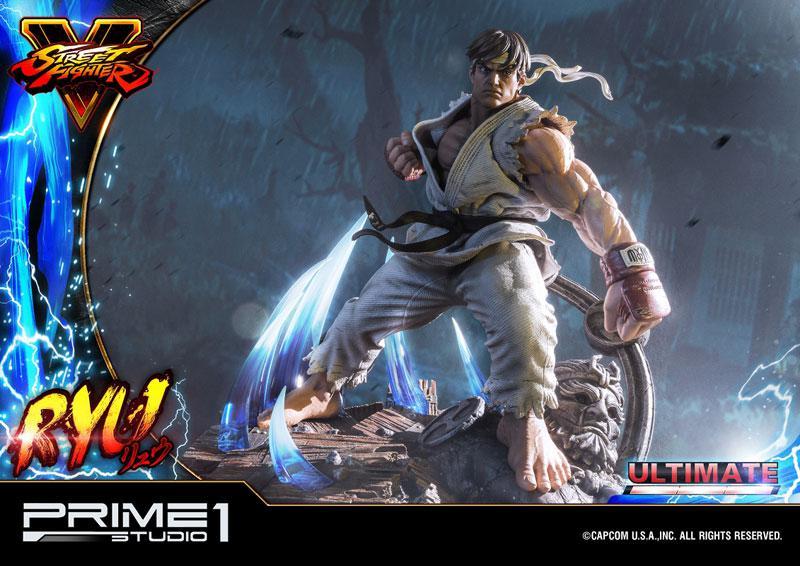 Premium Master Line Street Fighter V Ryu Ultimate 1/4 Statue 25