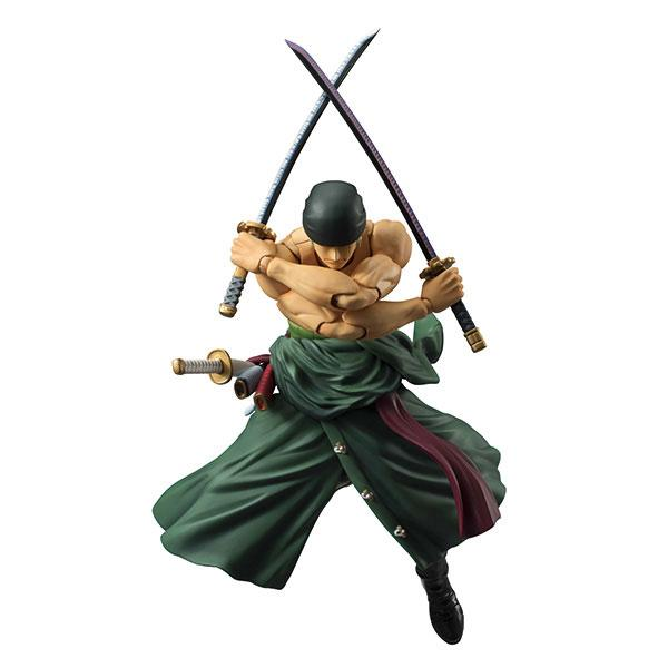 Variable Action Heroes ONE PIECE Roronoa Zoro Renewal Edition Action Figure