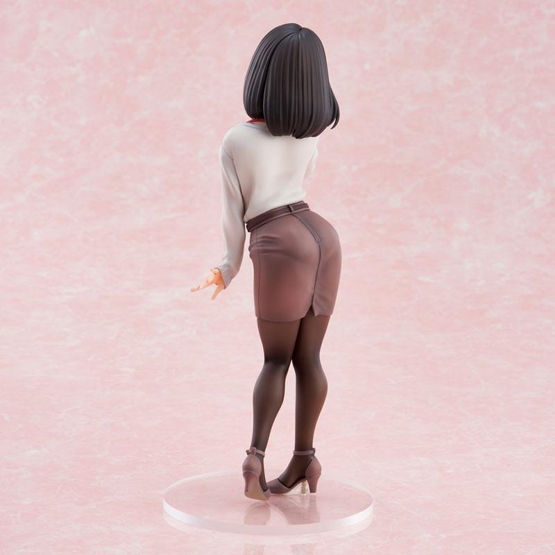 "Ganbare Douki-chan ""Kouhai-chan"" LIMITED Throw KISS Ver. Complete Figure"