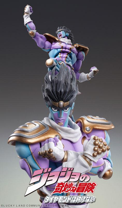 "Super Action Statue ""JoJo's Bizarre Adventure Part.IV"" Star Platinum Complete Figure 1"