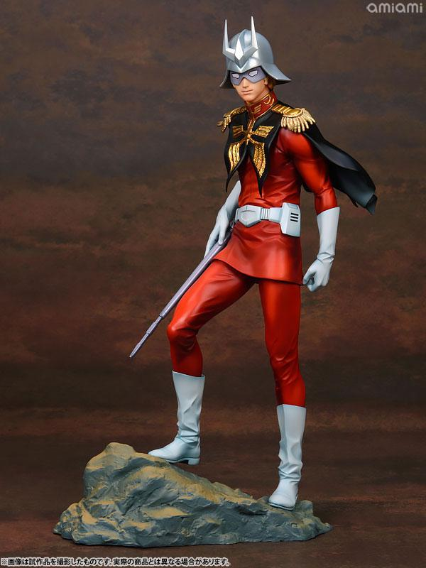 GGG (Gundam Guys Generation) Mobile Suit Gundam Char Aznable 1/8 Complete Figure main