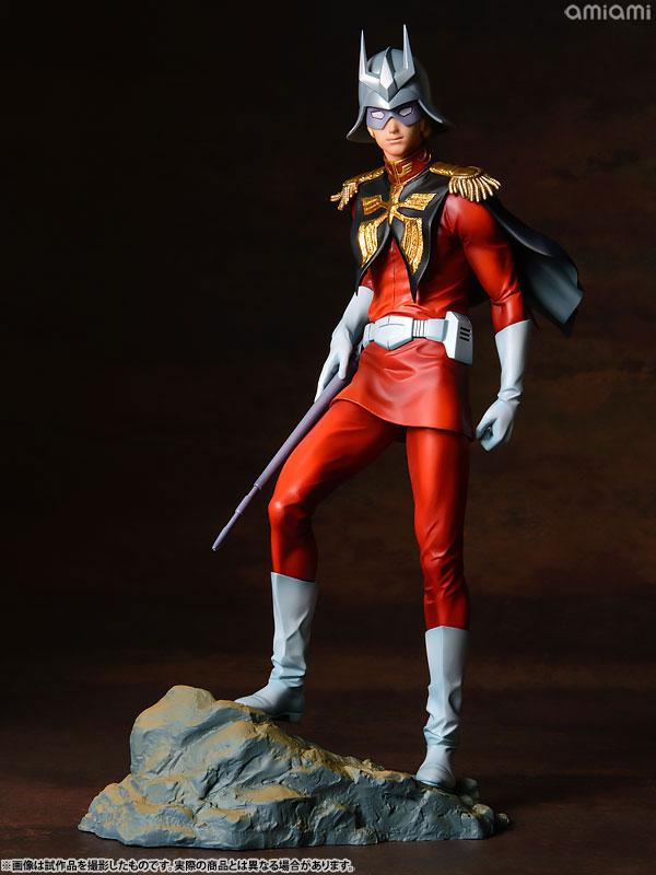 GGG (Gundam Guys Generation) Mobile Suit Gundam Char Aznable 1/8 Complete Figure 22