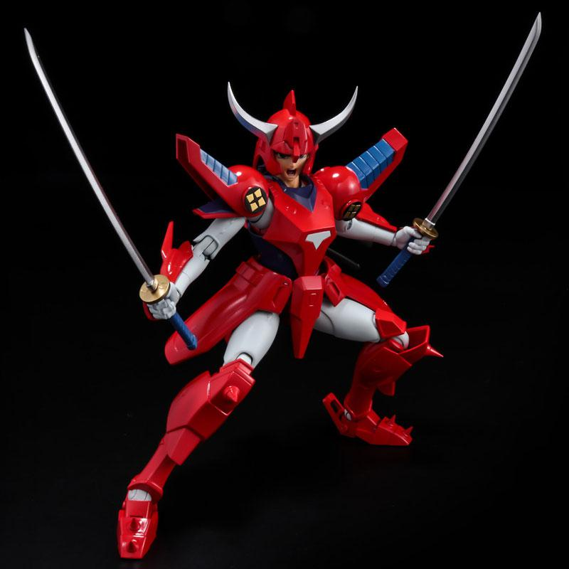 Choudan Kadou Ronin Warriors Ryo of the Wildfire Posable Figure 4
