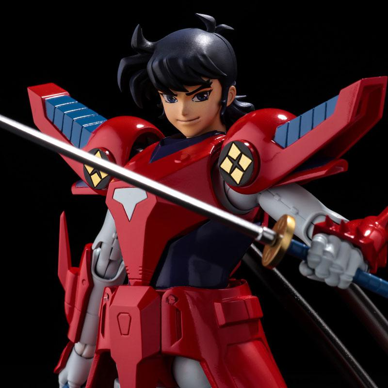 Choudan Kadou Ronin Warriors Ryo of the Wildfire Posable Figure 3