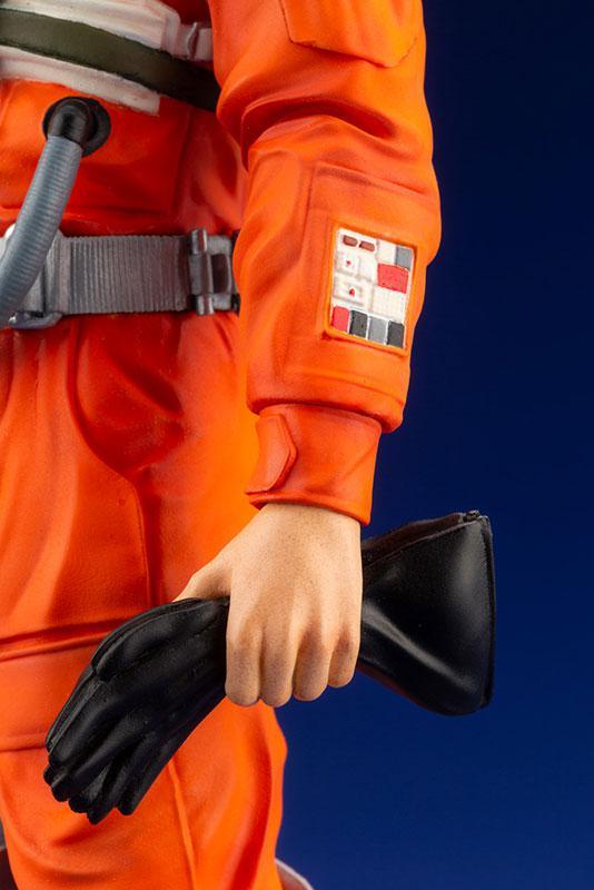 ARTFX+ Star Wars Luke Skywalker X-WING Pilot 1/10 Easy Assembly Kit 7