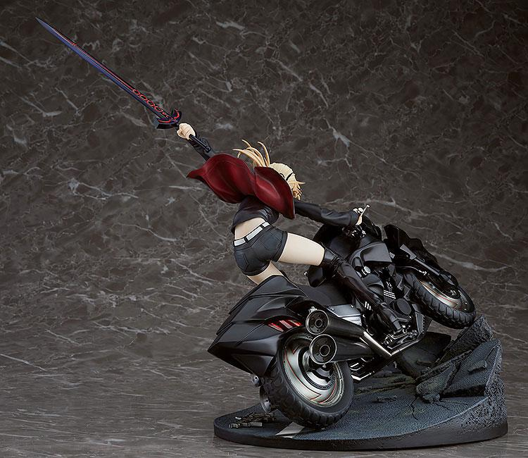 Fate/Grand Order Saber/Altria Pendragon (Alter) & Cuirassier Noir 1/8 Figure
