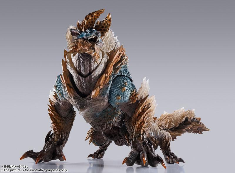 "S.H.MonsterArts Zinogre ""Monster Hunter World: Iceborne"" product"