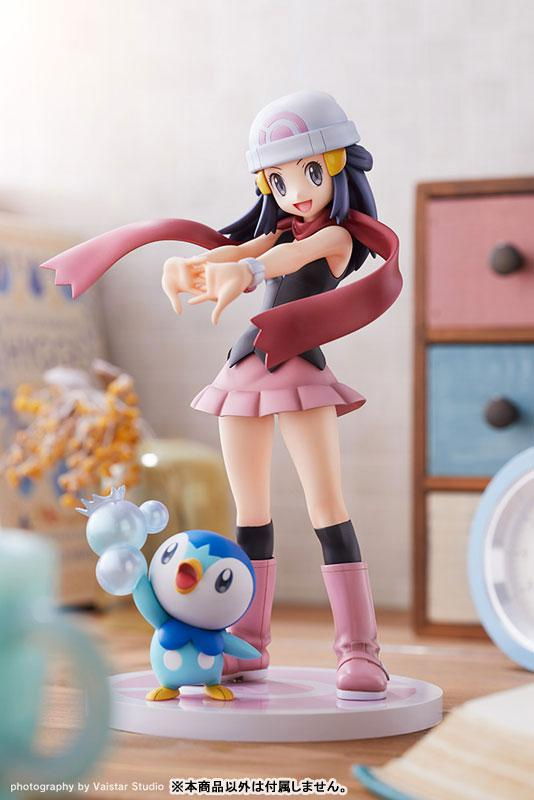 """ARTFX J """"Pokemon"""" Series Dawn with Piplup 1/8 Complete Figure 13"""